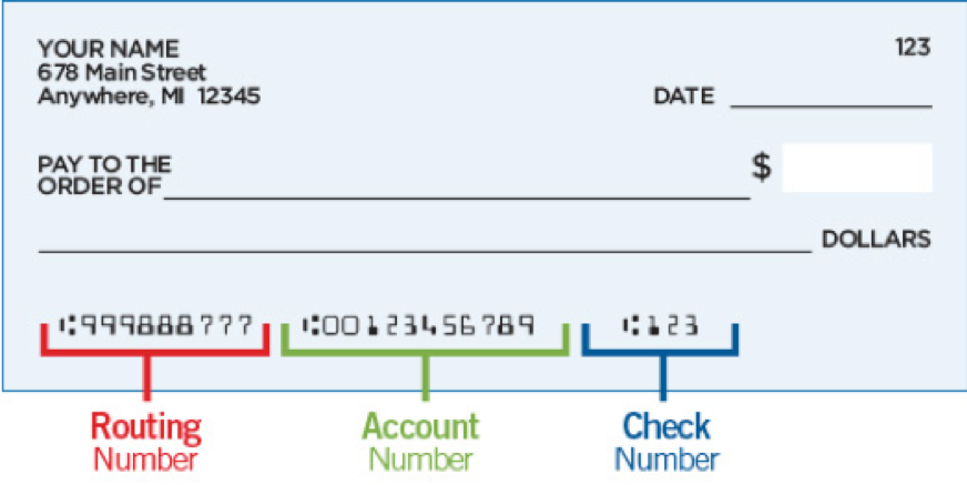 How to find bank account routing and account numbers